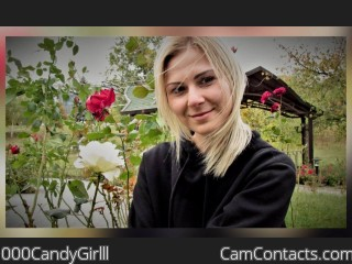 Webcam model 000CandyGirlll from CamContacts