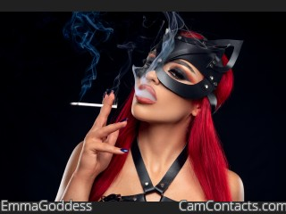 Webcam model EmmaGoddess from CamContacts