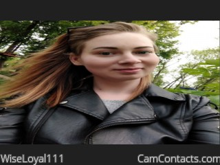 Webcam model WiseLoyal111 from CamContacts