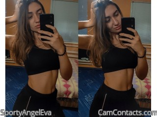 Webcam model SportyAngelEva from CamContacts
