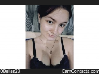Webcam model 0Bellas23 from CamContacts
