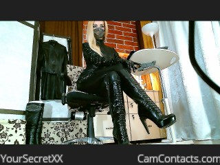 Webcam model YourSecretXX from CamContacts