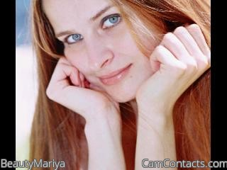 Webcam model BeautyMariya from CamContacts
