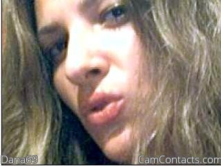 Webcam model Dana69 from CamContacts