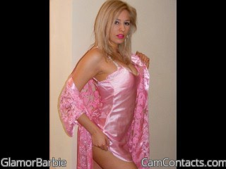 Webcam model GlamorBarbie from CamContacts