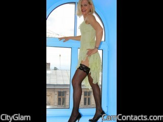 Webcam model CityGlam from CamContacts