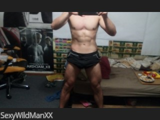 Live cam real time video chat with SexyWildManXX