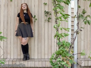 LIVE SEXCAM VIDEO CHAT mit SamanthaGo